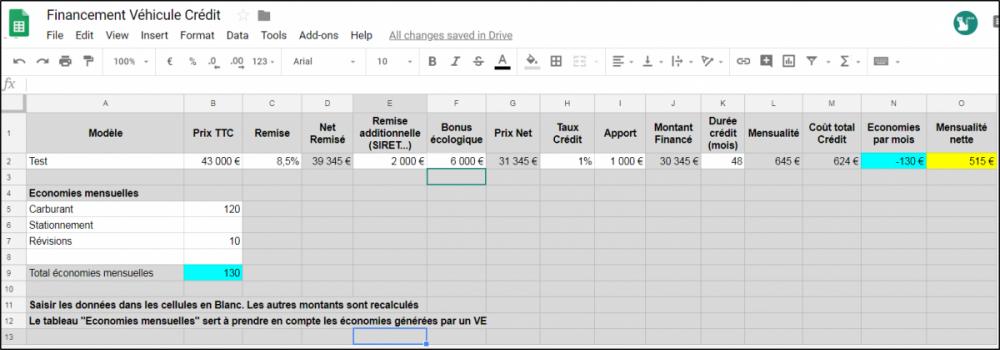 2018-09-25 12_11_37-Financement Véhicule Crédit - Google Sheets.png