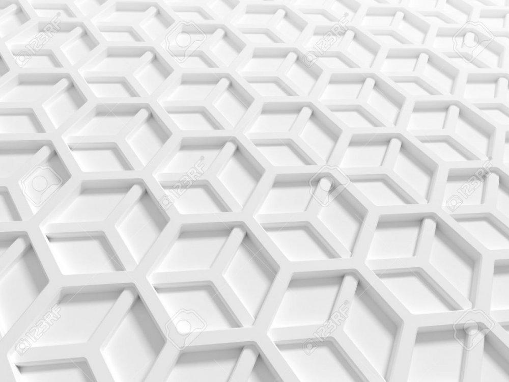 22577868-abstrait-architecture-à-structure-en-nid-d-abeille-blanc-lit-3d-render-illustration.jpg